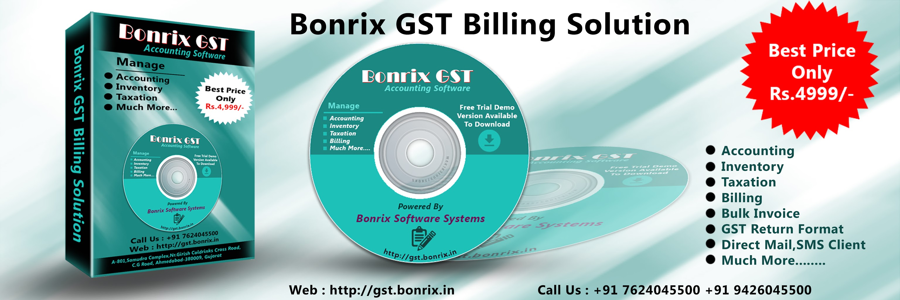 Kannur Bonrix GST Billing Solution Accounting Software – GST